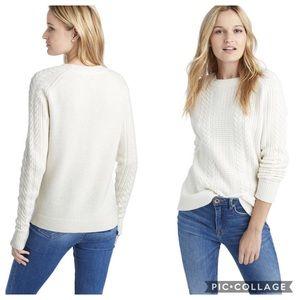 NWOT Vineyard Vines Merino Wool Fisherman Sweater